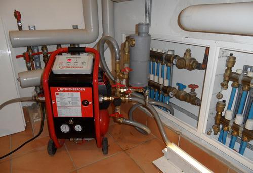 Гидродинамическая промывка системы отопления в Королёве