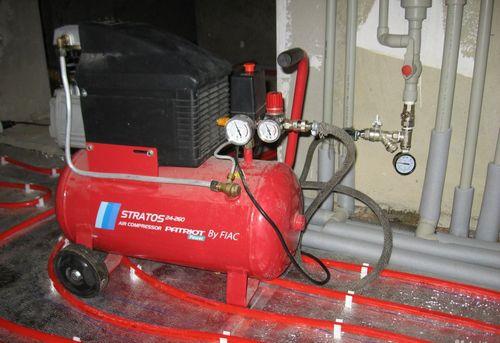 Гидропневматическая промывка системы отопления в Королёве