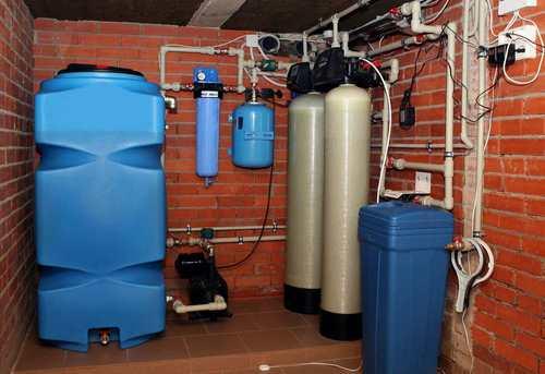 Монтаж автономного водоснабжения в Королёве