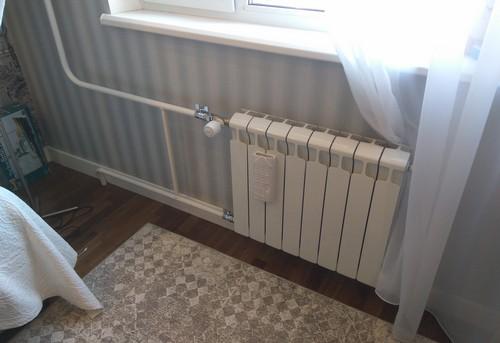 Монтаж батарей отопления с терморегулятором в Королёве