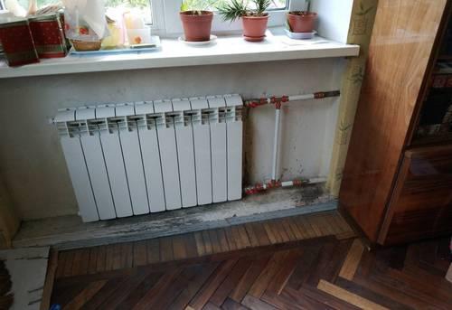 Монтаж батарей отопления в частном доме в Королёве