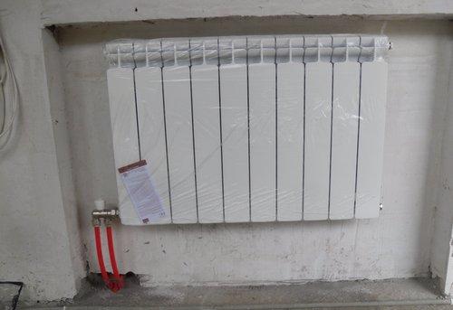 Монтаж батарей отопления в квартире в Королёве