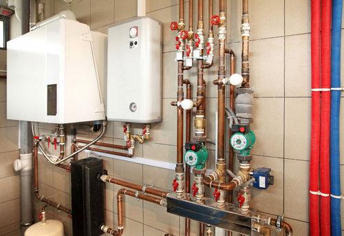 Монтаж газового отопления в частном доме в Королёве