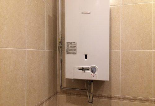 Установка газовой колонки Bosch в Королёве