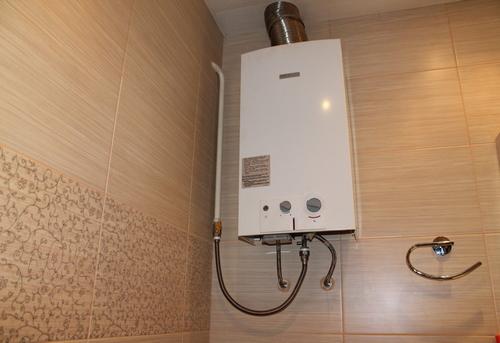 Установка газовой колонки в ванной в Королёве
