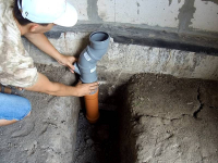 Монтаж канализации в коттедже