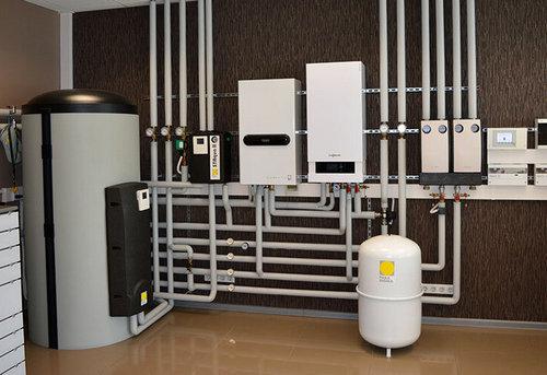Монтаж комбинированного отопления в частном доме в Королёве