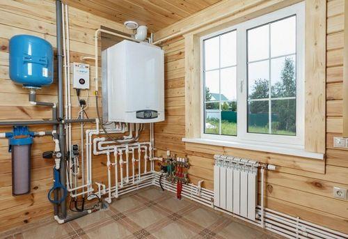 Монтаж отопления в частном доме в Королёве