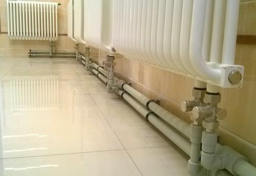 Монтаж полипропиленовых труб отопления в Королёве