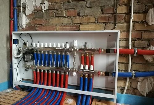Монтаж труб отопления из сшитого полиэтилена в Королёве