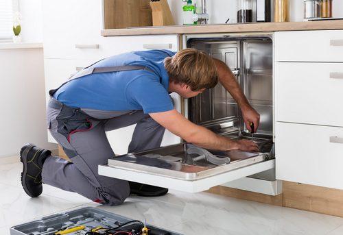 Подключение посудомоечной машины на кухне в Королёве
