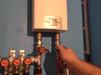 Подключение водонагревателя Zanussi