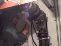 Прочистка ПВХ труб канализации