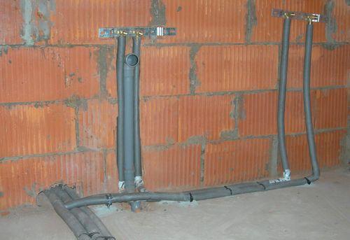Разводка канализации на даче в Королёве