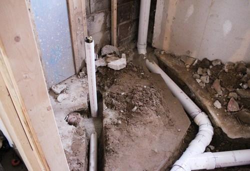 Разводка канализации в частном доме в Королёве