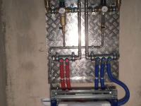 Разводка водоснабжения трубами рехау