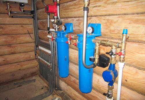 Разводка водоснабжения в частном доме в Королёве