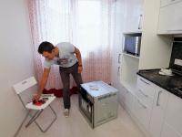 Установка духового шкафа на кухне