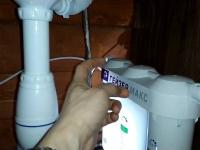 Установка и подключение фильтра тонкой очистки