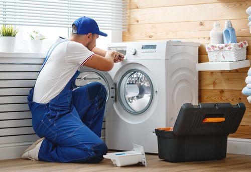 Установка отдельно стоящей стиральной машины в Королёве