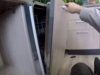 Установка посудомоечной машины Indesit