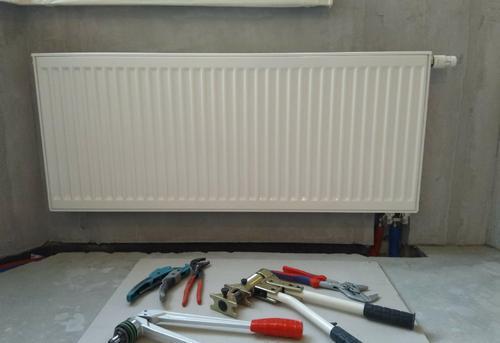 Установка стального радиатора отопления в Королёве