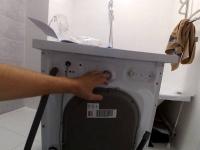 Установка отдельно стоящей стиральной машины