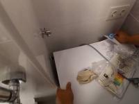 Установка стиральной машины в гарнитур