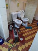Устранение засоров в туалете