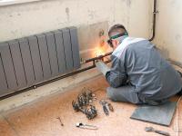 Замена алюминиевых батарей отопления