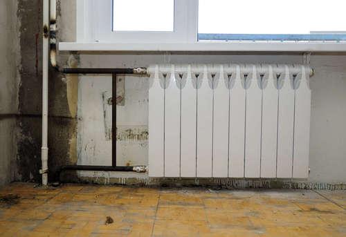 Замена биметаллического радиатора отопления в Королёве