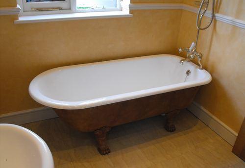 Замена чугунной ванны в Королёве