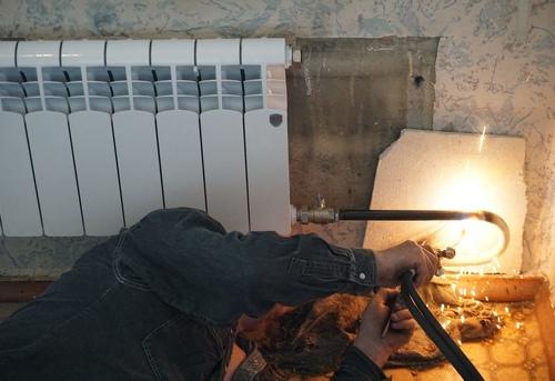 Замена отопительных труб из стали в Королёве