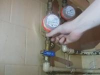 Замена счетчика воды ГВС