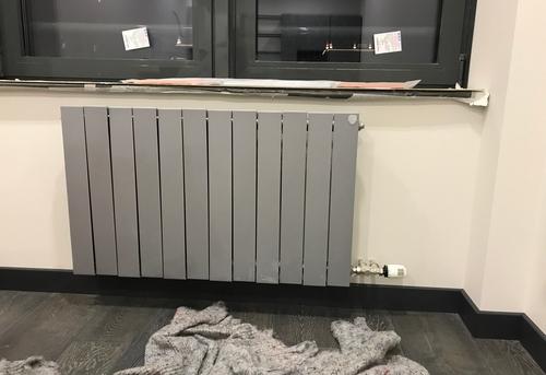Замена стального радиатора отопления в Королёве