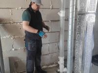 Замена стояка канализации под ключ