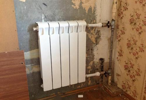 Замена стояка отопления с установкой радиатора отопления в Королёве