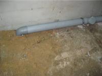 Замена ПВХ труб канализации