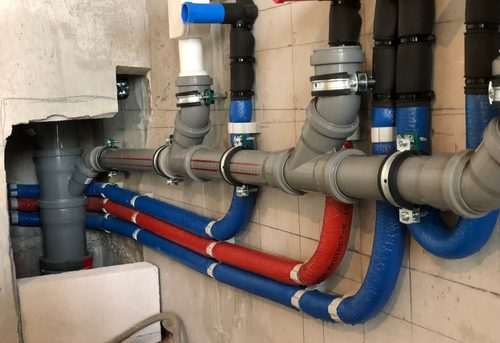 Замена труб канализации в квартире в Королёве